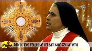 Momento de Adoración con Adoratrices del Santísimo Sacramento - Maria+Visión
