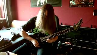 Megadeth - Lucretia (Full Guitar Cover with all Solos!)