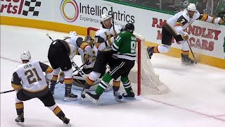"""Neal """"annihilates"""" Seguin in front of the net"""