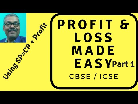 Profit and Loss CBSE 5 standard Profit  Loss Maths Concept