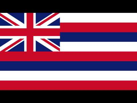 Bandera Secesionista del Movimiento de Soberanía Hawaiano - The Hawaiian Sovereignty Movement
