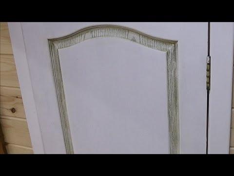 Двери под старину: технология нанесения патины - Дача 22.03.2014