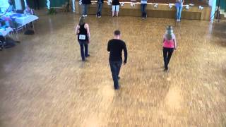 Line Dance Choreographie Lionel Richie - Dancing On The Ceiling @ World of Dance 2012