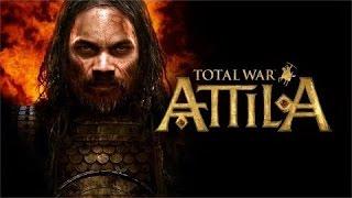 """Total war:Attila""""Всё или ничего""""Западная Римская империя(Начало ужаса)6 эпизод"""
