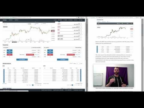 [Video Blog #85] - Part 2 - Engineered Market Movements - Digibyte Example 26/4/2017 (crypto)