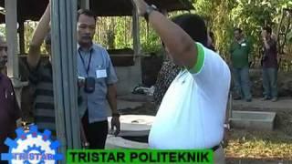 Pembangkit Listrik Biogas dari  Kotoran Sapi.