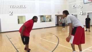 V1F - 1-on-1 Basketball, Game 044 (Terrell vs Cato)