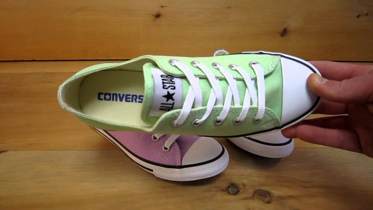 converse all stars chuck taylor dainty colors for spring 2013 - All Converse Colors