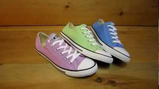 Converse All Stars Chuck Taylor Dainty colors for Spring 2013