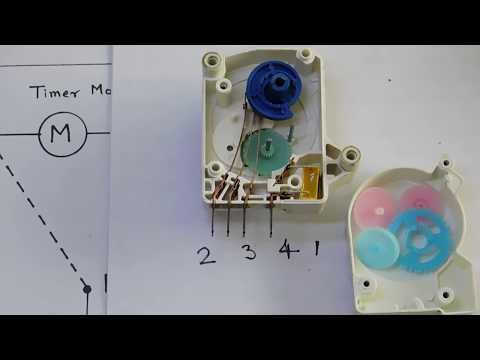 defrost timer testing in hindi/डीफ्रोस्ट टायमर की जाॅच - youtube