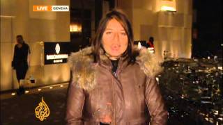 Al Jazeera's Zeina Khodr reports from Geneva