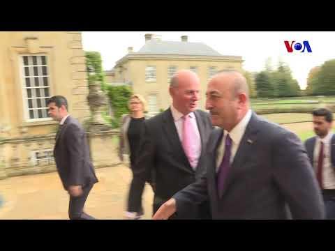 Dışişleri Bakanı Mevlüt Çavuşoğlu Londra'da