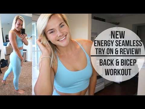 16392eb368122 NEW GYMSHARK ENERGY SEAMLESS REVIEW | Arm Workout | UNSTOPPABLE - YouTube