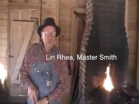 Historic Blacksmith Shop Tour - Lin Rhea, Master Smith ...