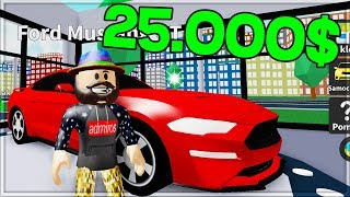 🔥 I BOUGHT A FORD MUSTANG GT FOR 25 000 $-IT WAS WORTH IT! IN ROBLOX