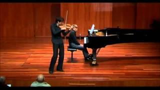 Khachaturian Violin Concerto (1st mov) Petr Lundstrem