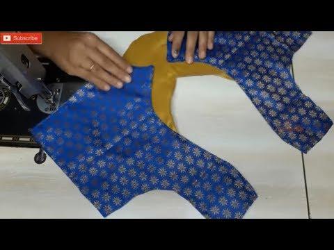 blouse design saree blouse back neck design