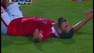 كأس مصر 2016 | عبدالله السعيد يهدر اخطر فرصة فى الشوط الاول بعد تسديده على معلول