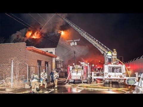 Orange St Fire (Waterbury, CT) 2/22/18