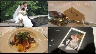 A Summer Wedding ❤ June7th 2014 vlog Thumbnail