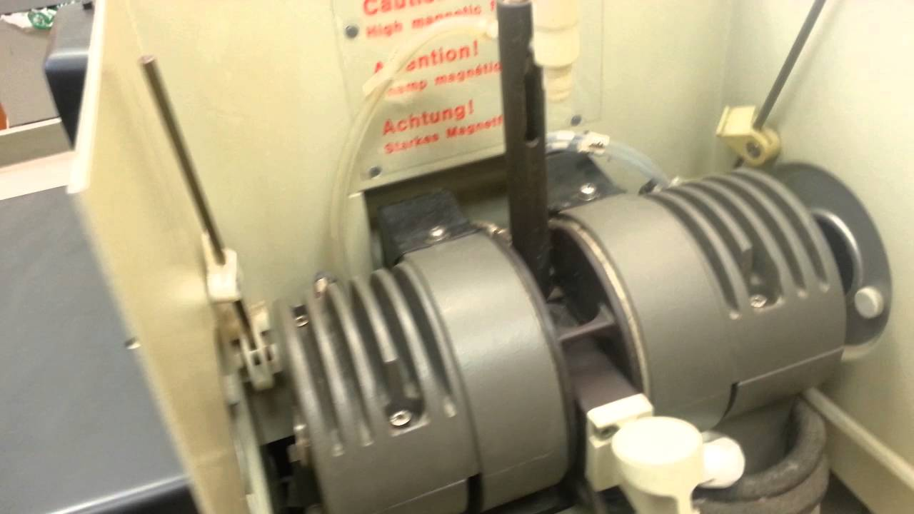 Testing The Graphite Furnace Of AAS