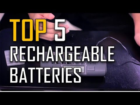 best-rechargeable-batteries-|-top-5-rechargeable-batteries-in-2017
