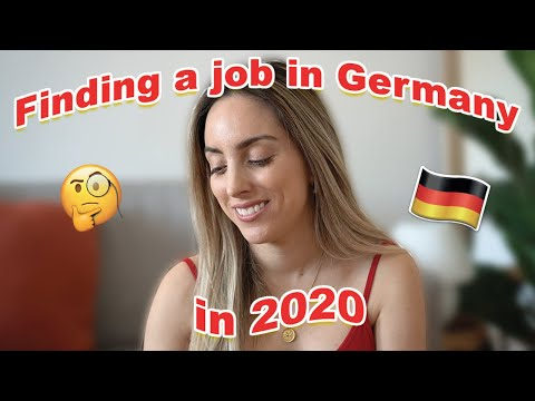 HOW TO FIND A JOB IN GERMANY IN 2020!