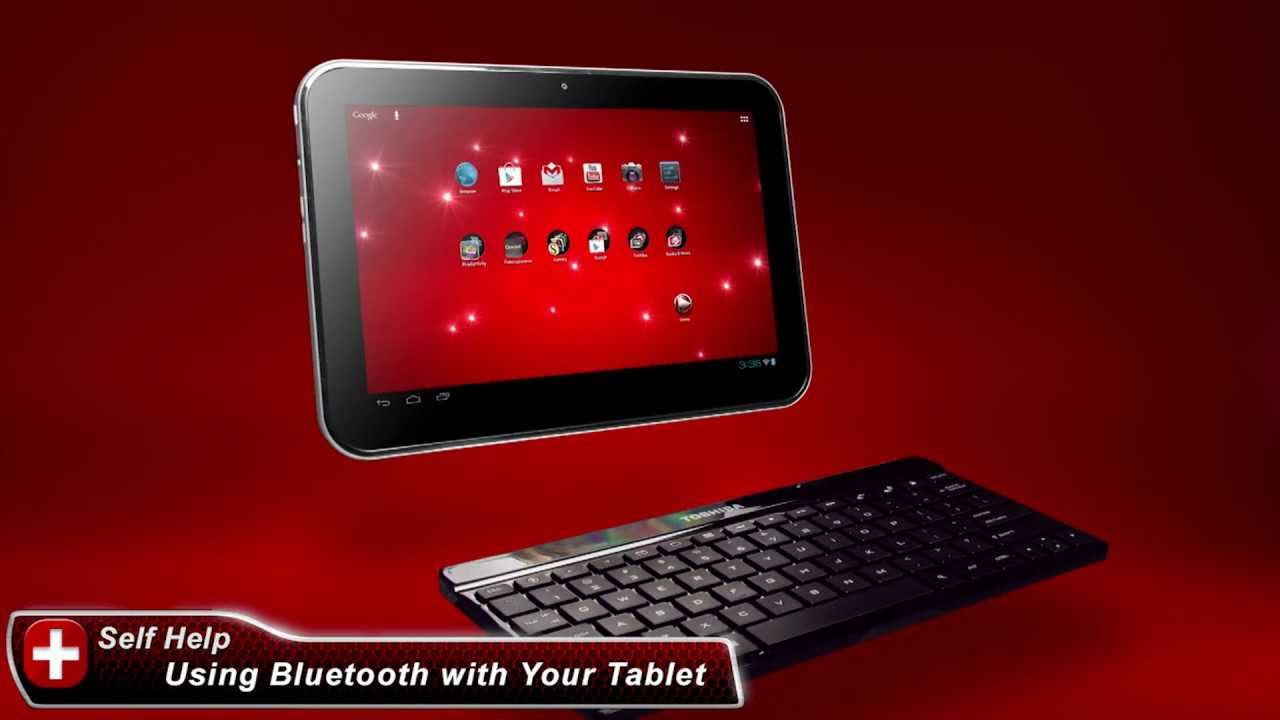 Toshiba How-To: Connect A Bluetooth® Keyboard to a Toshiba Excite Tablet  powered by Android 4 0