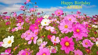 Ayden  Nature & Naturaleza - Happy Birthday