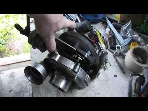 Garrett GT2359V boost actuator testing for Peugeot 306