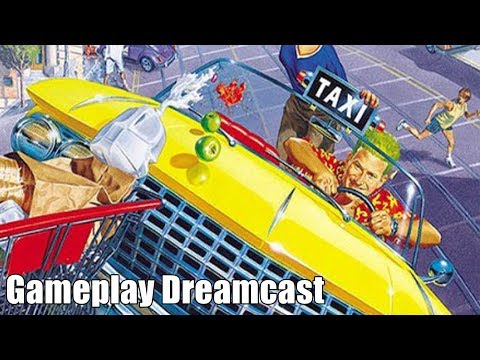 Crazy Taxi - Gameplay Dreamcast