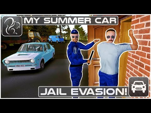 My Summer Car - Jail Evasion!