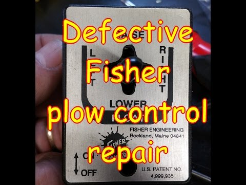 Defective Fisher Plow Control Repair