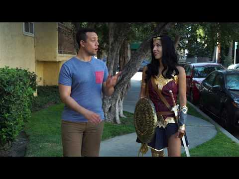 What Would Wonder Woman Do? - Episode #4 Wonder Woman vs Street Harassment- Parody