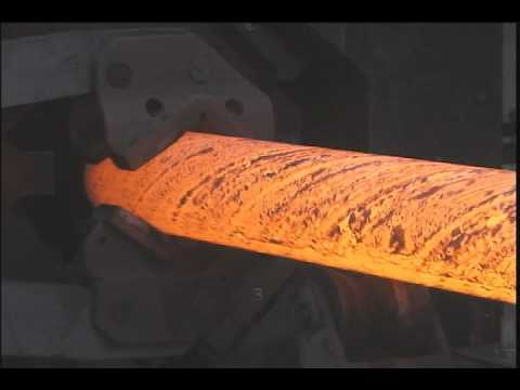 U.S. Army Watervliet Arsenal Rotary Forge Backgound Video