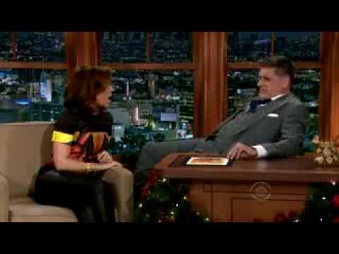 Alyssa Milano and Wilford Brimley on Craig Ferguson Show
