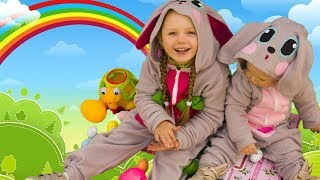Children Song with Olivia Kids Tube - Easter Bunny