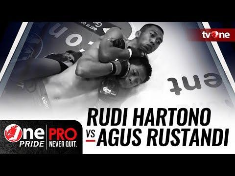 [HD] Rudi Hartono Vs Agus Rustandi - One Pride Pro Never Quit #20
