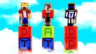 БИТВА СТОЛБОВ В МАЙНКРАФТЕ! НОВЫЕ БЛОКИ В МАЙНКРАФТЕ! Minecraft