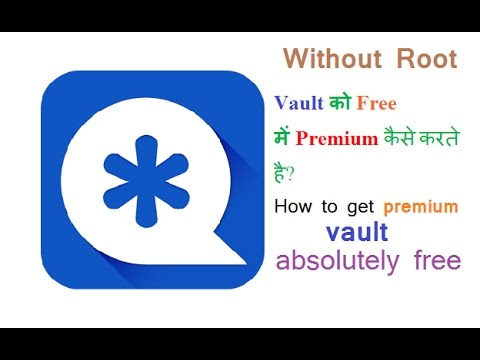 How To Get Free Premium Vault.