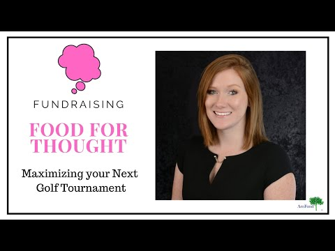 How to Maximize Fundraising at your next Golf Tournament