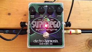 5 Minutes with the Electro-Harmonix Superego - Pedal Demo