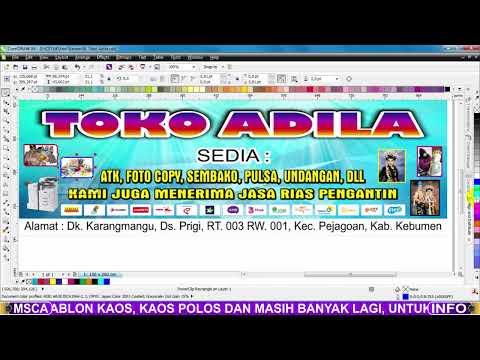Banner Toko Atk - desain spanduk keren