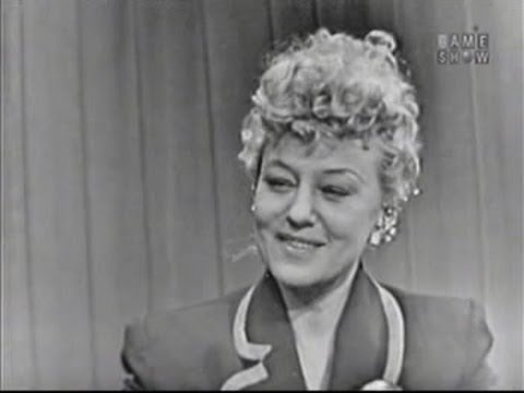 What's My Line? - Sally Rand (Dec 28, 1952)