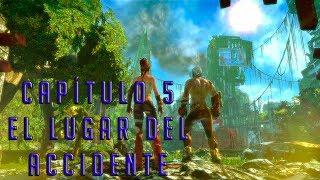 ENSLAVED: ODISSEY TO THE WEST PREMIUM EDITION PC GAMEPLAY | CAPÍTULO 5: EL LUGAR DEL ACCIDENTE