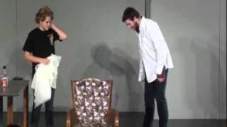 Monty Python Skit: Homicidal Barber/Lumberjack Song