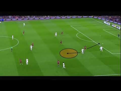 Holding Midfielder - Toni Kroos - movement