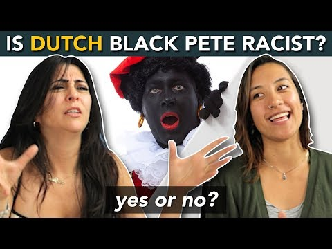 Dutch Black Pete - 'ZWARTE PIET'... RACIST or NOT?