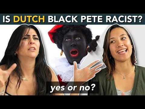 Dutch Black Pete - 'ZWARTE PIET'... RACIST or NOT?