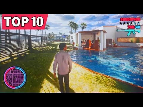 TOP 10 GTA GAMES ON ANDROID  || HIGH GRAPHICS [2020]